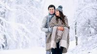 Шал тип одеяло – отново на мода през зимата