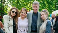 Щастлива баба: Илиана Раева показа внучките