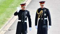 Принцовете Уилям и Хари няма да вървят един до друг на погребението на дядо си