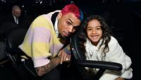 Специалният подарък на Крис Браун за дъщеря му