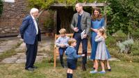 Стил по време на пандемия: Принц Уилям, Кейт Мидълтън и трите им деца