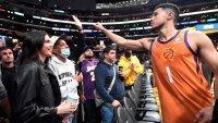 Кендъл Дженър и Девин Букър пренесоха любовта си на баскетболното игрище
