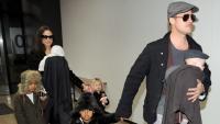 Брад Пит – отново в дома на Анджелина Джоли