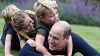 Нова снимка на принц Луи за третия му рожден ден