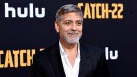 Джордж Клуни помага на пострадалите при наводненията в Италия