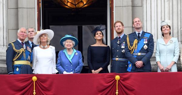 И кралското семейство на Великобритания се състои от членове, които