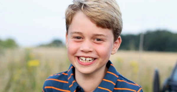 Синът на принц Уилям и Кейт Мидълтън, 8-годишният принц Джордж,