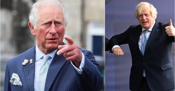 Клип с принц Чарлз и Борис Джонсън стана вирусен в