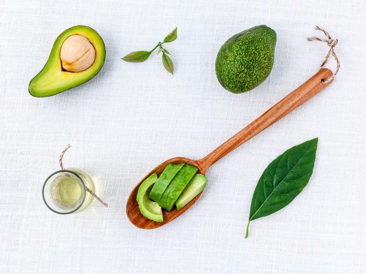 авокадо, масло