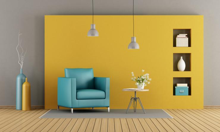 жълта стая