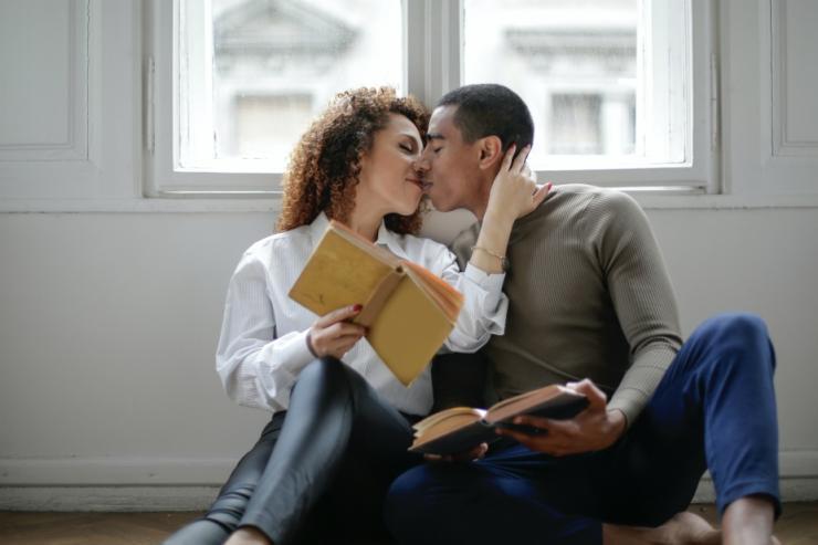 двойка, целувка