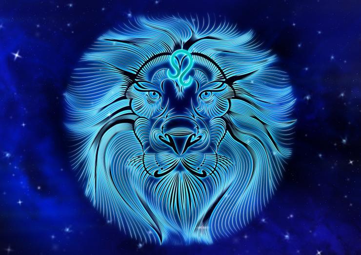 Лъв, зодии,
