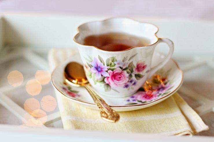чай, фарфор
